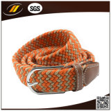 Form Elastic Webbing Belts in PU Leather