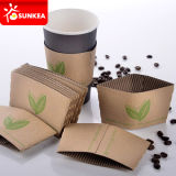 Изготовленный на заказ напечатанная тавром бумажная кофейная чашка Sleeves оптом