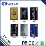 Disco de la tarjeta de crédito del USB del precio al por mayor 2GB Bussiness del palillo de destello de encargo del USB