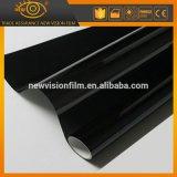 Film teint par professionnel solaire noir en gros de guichet de véhicule de Vlt 5%