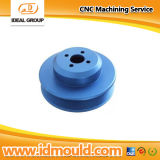 CNC Machining Aluminum Parts mit Blue Anodizing