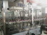 Enchimento de engarrafamento da água pura automática cheia fazendo a máquina