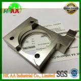 Cnc-maschinell bearbeitender fester Aluminiumprägeblock, anodisierter gebohrter Block