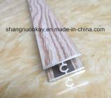 Profil coulissant en aluminium anodisé de porte de garde-robe