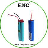 Pak 3.7V 12000mAh van de Batterij van de batterij 1s6p 18650 het Li-Ionen