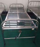 (A-121) Toda la cama de hospital manual de la sola función del acero inoxidable
