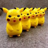 Pokemon vai banco da potência dos desenhos animados de Pikachu