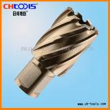 上塗を施してあるHSSのブローチのカッター(DNHX)が付いている切削工具