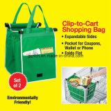 Waschbarer Eco freundlicher mehrfachverwendbarer große Kapazitäts-Supermarkt-Einkaufen-Zupacken-Beutel