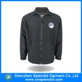 Mens de Van uitstekende kwaliteit Zwart Jean Jacket van de Fabriek van de Kleding van Shenzhen