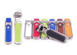 Ledernes USB-Blinken-Laufwerk 2.0 prägen Zeichen 3.0 USB-Steuerknüppel