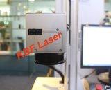 De Laser die van de Vezel van Mopa Machine voor het Embleem merken die van het Geval van iPhone De Machine van de Kleurendruk merken