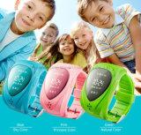 Jm09 GPS 추적자 인조 인간 Ios에 의하여 반대로 분실되는 Sos 분홍색을%s 지능적인 아이 아이들 Bluetooth 시계 SIM