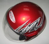 オートバイのアクセサリのオートバイの高品質のヘルメット太字および半分の表面