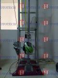 Machine de test de crevaison de pare-soleil de casque
