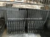 Alto equipo de la galvanización de la INMERSIÓN caliente del alambre de acero de DV