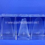 2015 Prijs van de Machine van de Gravure van de Laser van het Kristal van de Bevordering van de Gift van Kerstmis 3D
