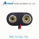 E schreiben den weichen Batterie-Verschluss-Verbinder, der für Zelle 9V geeignet ist