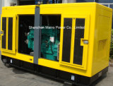 tipo silenzioso generatore del motore BRITANNICO standby di tasso di 110kVA 88kw del diesel