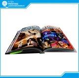 서비스를 인쇄하는 직업적인 두꺼운 표지의 책 책