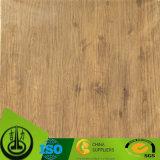 Papel decorativo del grano de madera único del diseño para el suelo