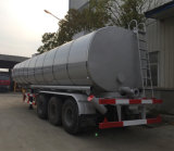 40000L Tri-Axle Heating Device Asphalt Tank Semi Trailer
