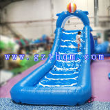 大人か膨脹可能なPlamの木水スライドのための巨大で膨脹可能な水スライド