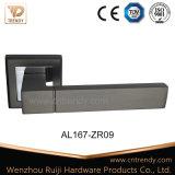 Het decoratieve Handvat van de Hefboom van de Deur van het Aluminium Houten voor Flat (AL223-ZR02)