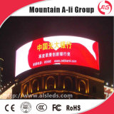 P31.25 Full Color LED Grid Curtain Transparent Screen per Advertizing