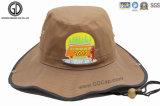 反射パネルが付いている高い可視性釣バケツの帽子