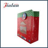 Мешок окна конструкции с Рождеством Христовым уникально изготовленный на заказ напечатанный логосом бумажный