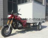 Fast Food Cargo Tricycle com PU Box (TR-2B)
