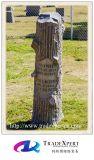 Monumento del granito della natura di stile dell'albero per il cimitero, Headstone con gli alberi