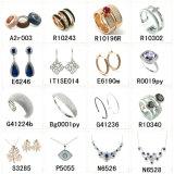 Joyería de imitación fina barata al por mayor de la boda del cobre del oro del acero inoxidable del Zircon del diamante de China para la joyería de la manera de la plata esterlina del cuerpo 925 de los hombres de la mujer (A2r003)