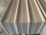 Strato di alluminio ondulato preverniciato del tetto