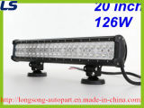 Barre 126W d'éclairage LED de CREE du CREE DEL de la barre 20 d'éclairage LED de 12 volts ""