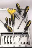 l'acier de Cr-v d'outils à main 7PCS a noirci le jeu magnétisé de tournevis d'extrémités