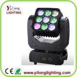 Matrix 9X12W CREE LED bewegliches Hauptwäsche-Träger-Licht