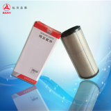 Elemento externo del filtro de aire de la pieza de los excavadores de ODM/OEM Sany