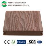 Placa de revestimento de WPC de coextrusão portátil ao ar livre resistente a fendas