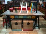 Contenitore di legno elegante unico di mobilia antica di Hotsale