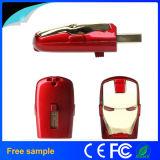 高速2.0の報復者USBのメモリディスクの鉄の人マスクのペン駆動機構