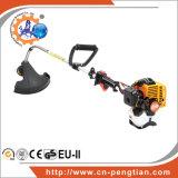 cortador de grama 25.4cc com o eixo de funcionamento da curvatura