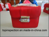 ハンド・バッグ、財布、ショッピング・バッグおよびバックパックのための品質管理の点検