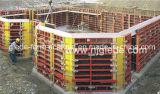 Encofrado circular del marco de acero de la columna para la construcción