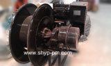 Tambor de cable de resorte para el compartimiento hidráulico del gancho agarrador del motor
