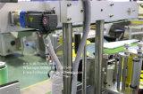 Três lados fronteiam para trás e cobrem a máquina de etiquetas para a cerveja