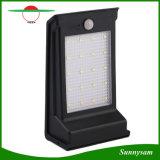 Lampada fissata al muro impermeabile esterna di obbligazione 20 LED di energia solare della batteria di movimento dell'indicatore luminoso sostituibile del sensore per il patio del giardino