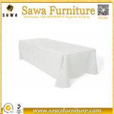 Polyester rectangulaire Wedding la nappe respectueuse de l'environnement imperméable à l'eau