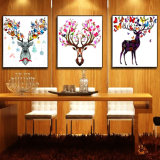 Retrato animal da parede da pintura a óleo de HD para a decoração Home